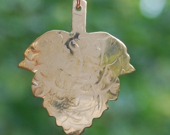 Brass Leaf by Cherokee Copper