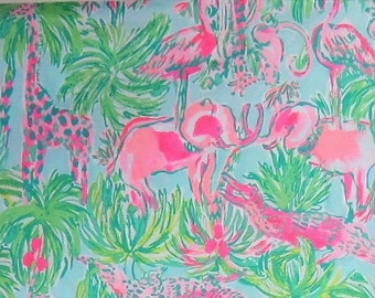 ON PARADE 18x18 or 18x9 inches Lilly Fabric Pulitzer