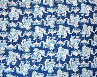 JOY RIDE Spring 2018 Lilly Fabric Pulitzer Elephant