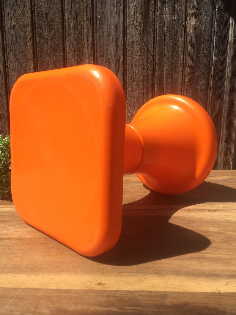 Design Tabouret Pop Orange Style Tam Tam Emboitable Etsy