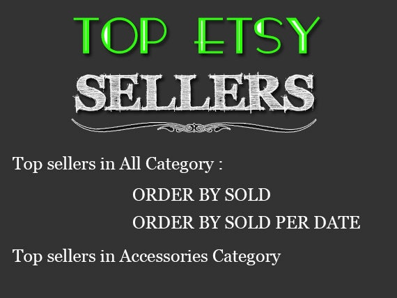 d4db6f74d6e3f Top Etsy sellers Top selling shops Most popular shop Best sellers Top  sellers in Accessories Category , Top Sellers all Category
