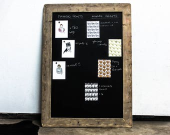 Large Chalkboard/Message Board Made From Reclaimed Scaffolding Board  - Designed and made to order accessories by urbangrain.co.uk