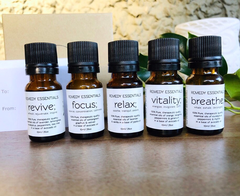 Essential Oil Blends 10ml Focus Anti Stress Anxiety