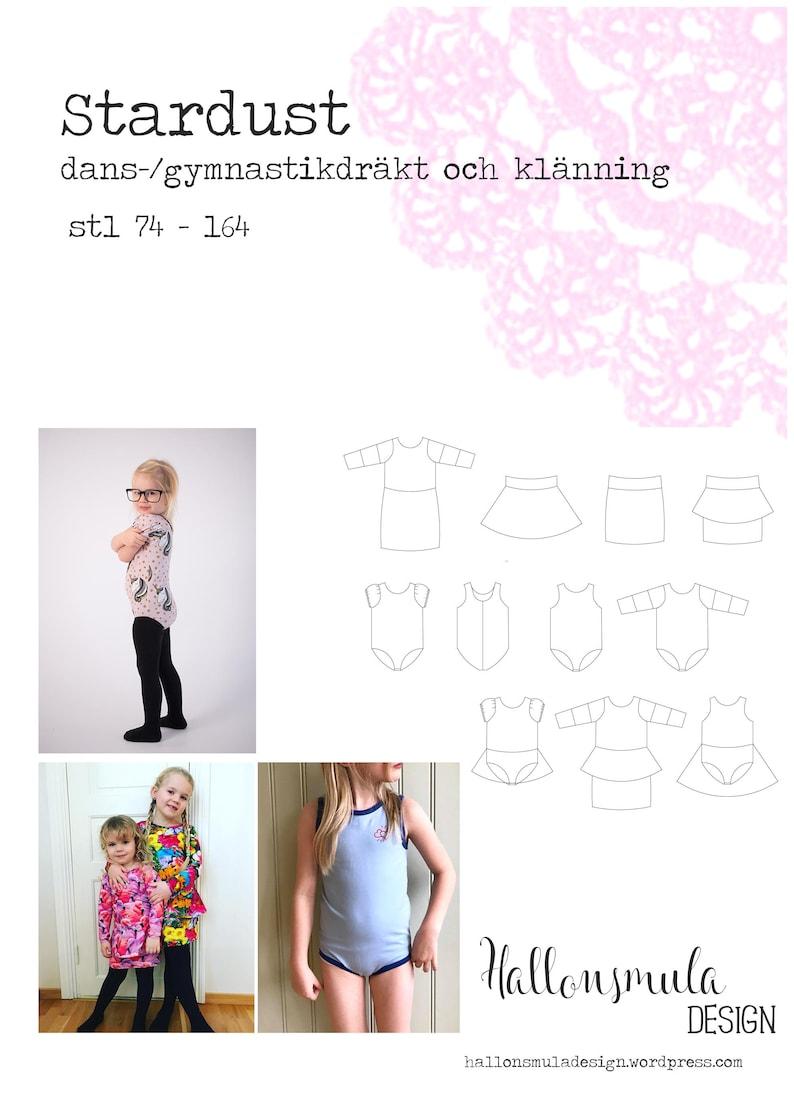 the best attitude f51bb f5528 PDF mönster Stardust gymnastik dansdräkt klänning och kjolar   Etsy