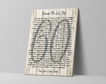 Sentimental Gifts For Mom Gift From Daughter 80th Birthday Grandmother 60 Reasons We Love You Grandma 65th 70th 60th
