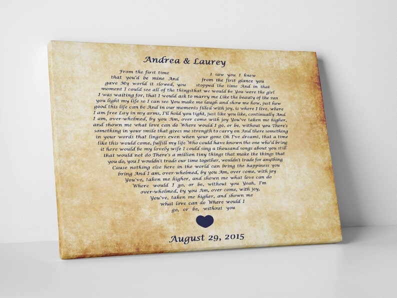 15 years wedding anniversary gift ideas, personalized crystal anniversary  gift for husband and wife, 15th anniversary custom song lyrics