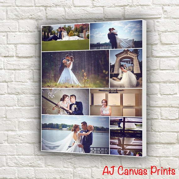 Foto Collage Auf Leinwand Leinwand Bilder Collage Etsy