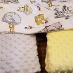 2 Eeyore Baby Blankets