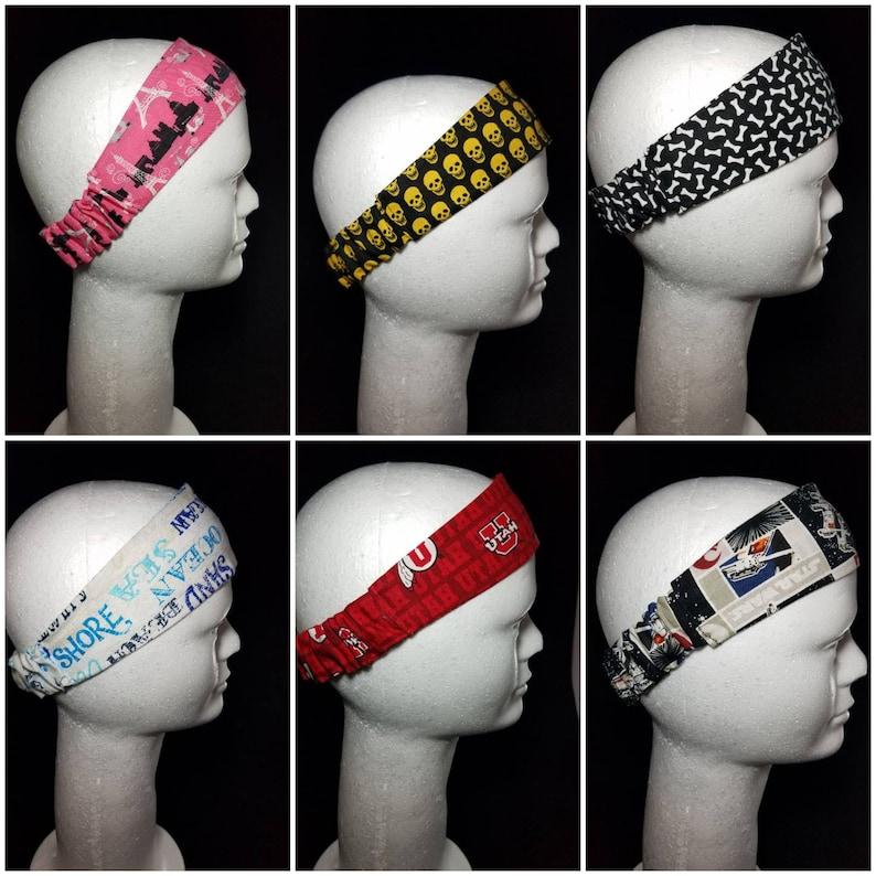 Women's Hair Headband Elastic Cotton Headband Hair image 0
