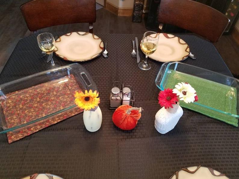 Thanksgiving 9x13 Casserole Dish Hot Pad Thanksgiving Themed image 0