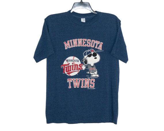 Vintage 1988 Minnesota Twins MLB Baseball Snoopy P