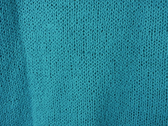 Vintage Original Venezia Sportswear Teal Turquois… - image 5