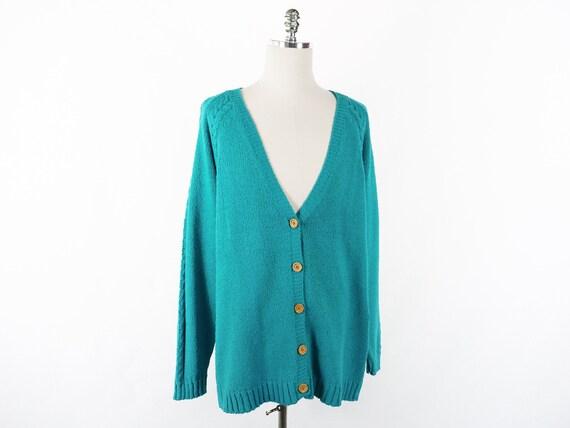 Vintage Original Venezia Sportswear Teal Turquois… - image 1