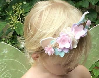 Woodland Fairy crown headband