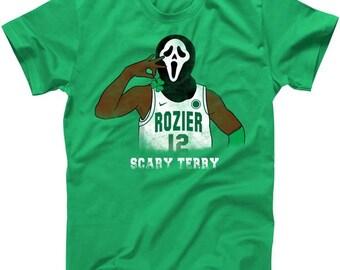 Scary Terry Mask Boston Basketball - T shirt