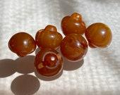 Set of Bakelite Buttons. Cute Balls. Motley. Gorgeous.