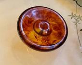 Vintage Bakelite Tortoiseshell Button. Large Size. Great Shape.