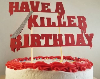 Friday The 13th Party Decorations Have A Killer Birthday Etsy