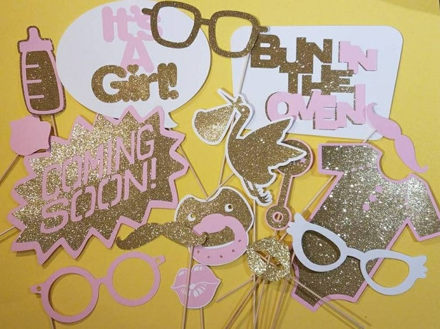 Baby Shower Decorations Girl Pink And Gold Baby Shower Ideas Baby