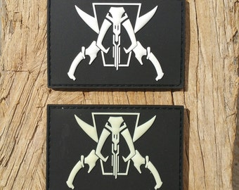 Jolly Mando PVC Morale Patch - Glow in the dark