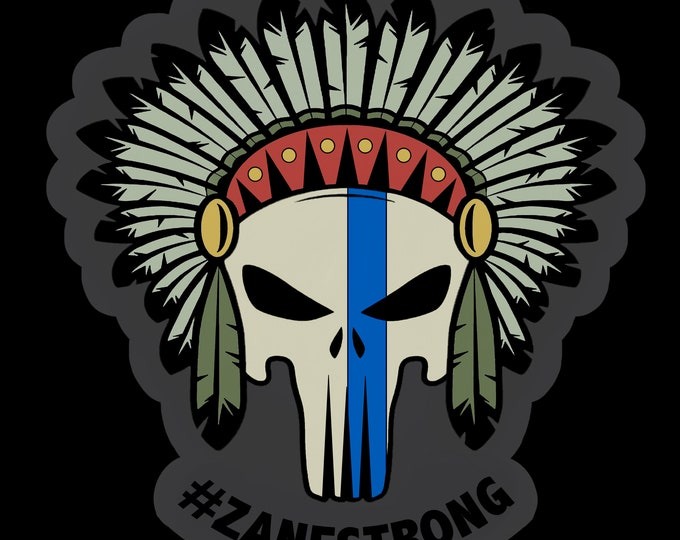Featured listing image: Zane Wiseman Fundraiser Patch - #ZaneStrong