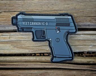 Lo-Point Yeet Cannon - PVC Morale Patch