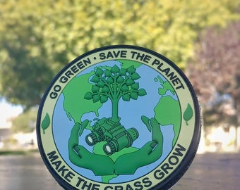 Save the Planet - PVC Morale Patch