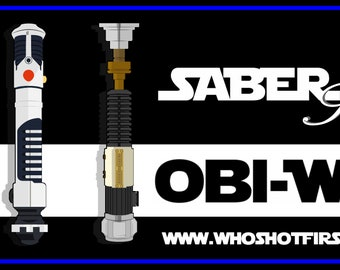 Obi-Wan 3 Pack - Saber Series - Limited Edition