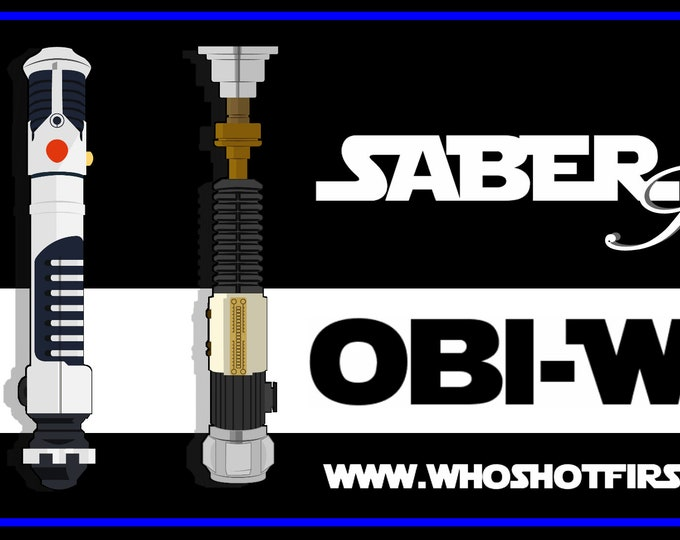 Featured listing image: Obi-Wan 3 Pack - Saber Series - Limited Edition