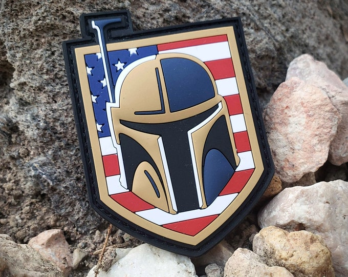 Featured listing image: Golden Fett USA - PVC Morale Patch