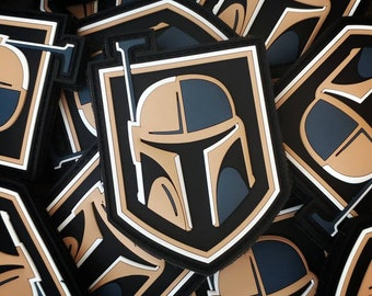 Golden Fett - PVC Morale Patch