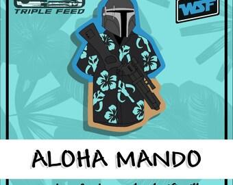 Aloha Mando PVC Morale Patch