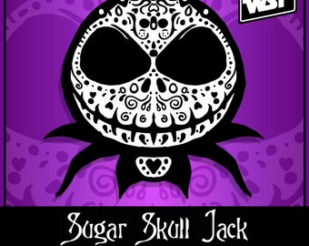 Sugar Skull Jack - Limited Edition PVC Morale Patch