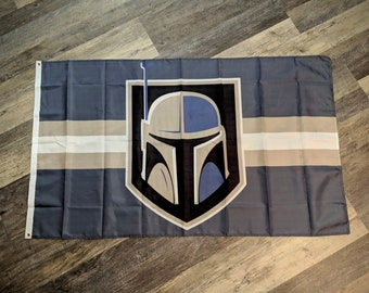 Golden Fett - 3'x5' Flag - Banner