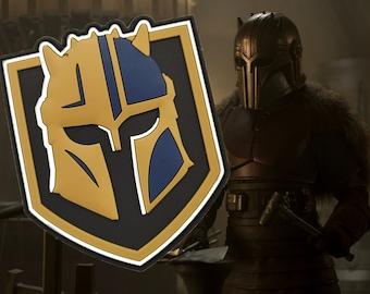 Golden Armorer - PVC Morale patch