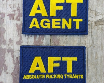 AFT Embroidered Morale Patch
