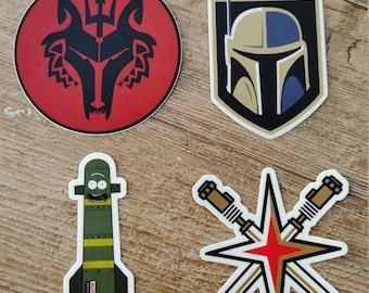 Slap Pack - (4) Stickers