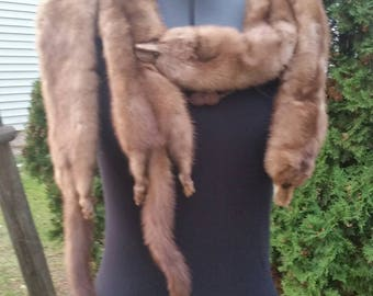 Vintage mink stole: 1930's-1940's