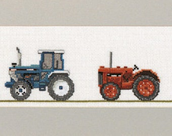 Cross Stitch Tractors