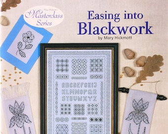 Book 'Easing in to Blackwork'