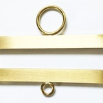 SALE - Brass Bell Pull Ends