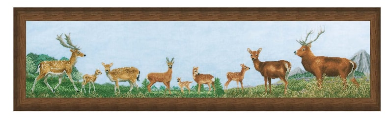 Cross Stitch Design 'British Deer' image 0