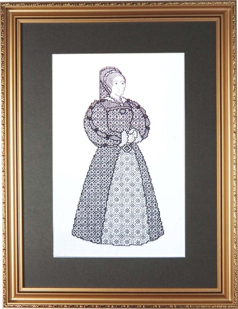 Blackwork Design 'Katherine Howard' image 0