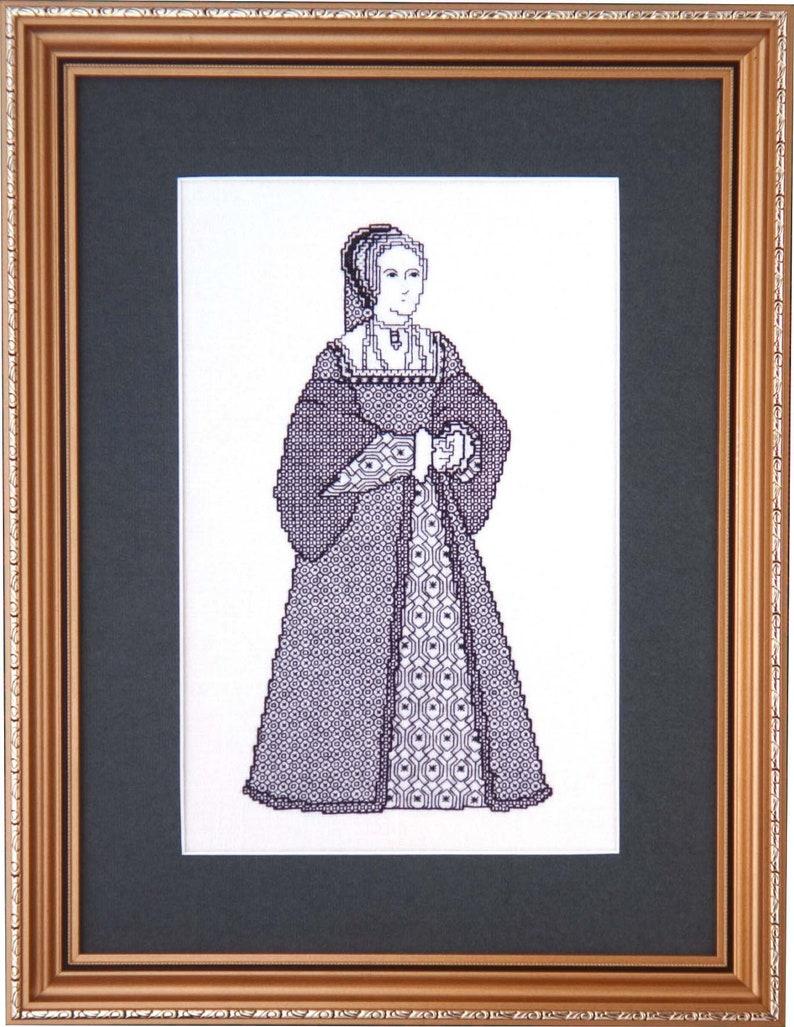 Blackwork Design 'Anne Boleyn' image 0