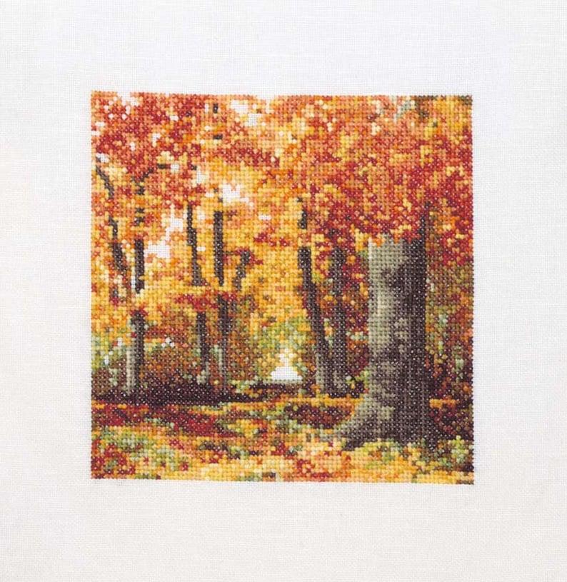 Autumn Colours in Cross Stitch image 0