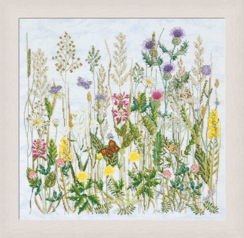 Cross Stitch Design 'Field of Butterflies' formerly image 0