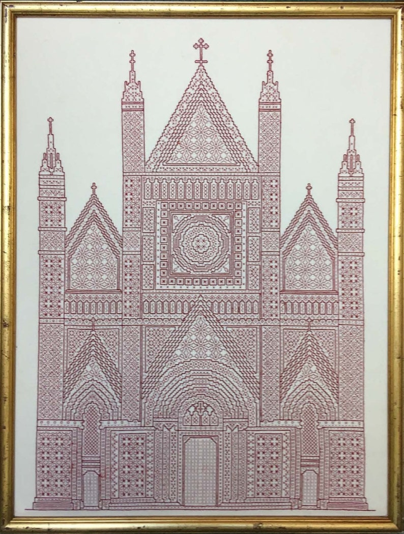 Blackwork design 'Italian Cathedral' image 0