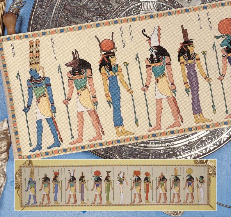 Cross Stitch Download 'Gods of Egypt' image 0