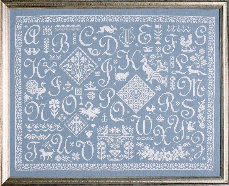 Cross Stitch Sampler 'Vintage Stitching' image 0