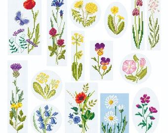 Download Cross Stitch 'British Wildflower Collection 2'